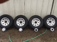 Ford 8 lug chrome wheels Modesto, 95354