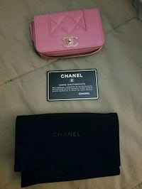Authentic Chanel Coin/Card wallet with cover Laurel, 20707