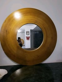 Large Round Gold Mirror  Brampton