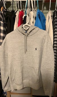 Polo hoodie (size Large)