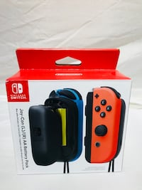 Nintendo Switch joy-con battery pack box Montréal, H3A 1P4