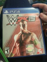 Sony PS4 WWE 2K15 game case Central, 29630
