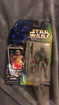 StarWars The Power of the force Boba Fett action figure Taft, 93268