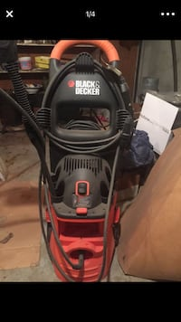 black and red Craftsman pressure washer Mansfield, 02048