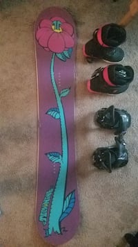 Snowboard Package, Women's Brand New Anchorage