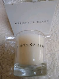 VERONICA BEARD Fragranced Candle in glass holder. Stamford, 06905