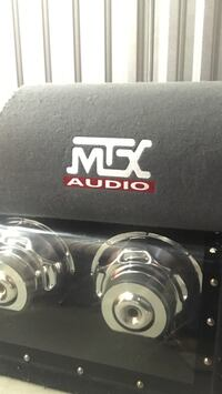 Self powered 260 watt 8 inch MTX cannon 300 in store $160 obo brand new  New Westminster, V3L 3G1