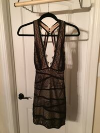 BEBE lace and bandage open back dress Vaughan, L6A 1V2