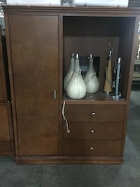 brown wooden cabinet with mirror Conway, 29526