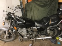 black and gray cruiser motorcycle 1956 km