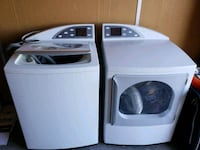 white clothes washer and dryer set Las Vegas, 89169
