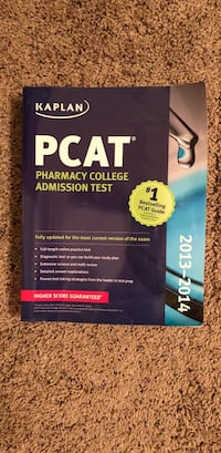 Kaplan PCAT Pharmacy College Admission Test book Tucson, 85713