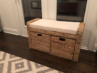 Wicker Storage Bench Nashville, 37013