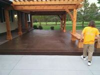 Antiquing and sealing Foreston, 56330