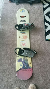 $45 Mens Snowboard (size 154) with bindings Ellicott City, 21043