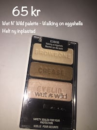 Wet N' Wild palette - walking on eggshells - oöppnad helt ny makeup smink Sollentuna, 192 69