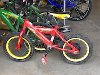 "Huffy 14"" child bicycle Disney Cars lightning McQueen. No training wheels Leesburg, 20175"