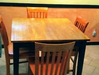 Dinette table with 4 chairs Woodbridge, 22192