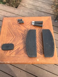 Harley Davidson Floor board inserts and pegs