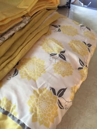 white and yellow floral printed infant bedding set Tewksbury, 01876