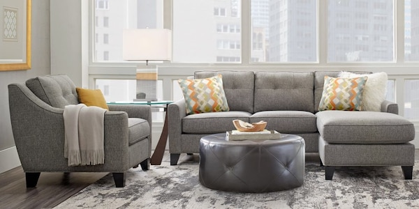 Gray Sectional Sofa