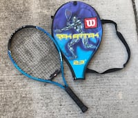 Wilson youth tennis racket with zippered cover Castro Valley, 94552