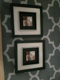 two black wooden photo frames Gaithersburg, 20879