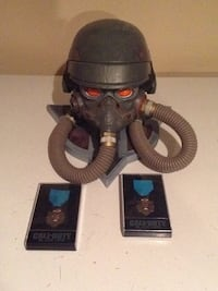 Kill zone helmet display and call of duty black ops metals Oakville, L6H 6T1
