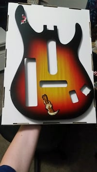 Guitar skin for Wii Guitar Hero