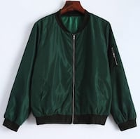 Green bomber jacket size S Toronto, M5S