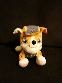 Paw patrol Rubble plush  Mississauga, L5R 3K8