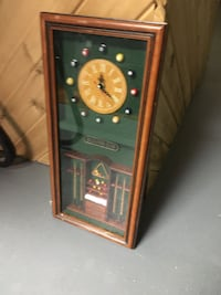 Vintage pool table clock Courtice
