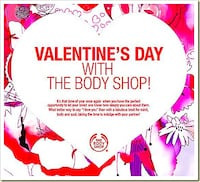 The Body Shop Free Valentines Special Catalogue Leicester