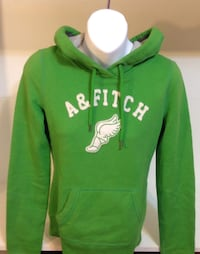 Abercrombie & Fitch Hooded Green Sweater: Size XS Toronto, M6G