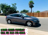 Honda - Civic - 2016 $1500 DOWN PAYMENT Riverside