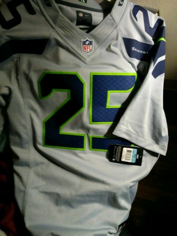 timeless design 8a8be 81a7b NFL Seattle Seahawks game jersey