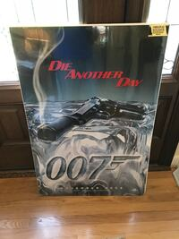 Die Another Day 007 poster Midlothian, 23113
