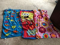 3 large beach towels fold into pouch $10 all 3 Regina, S4R 3P4