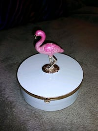 Pink Flamingo Trinket/Jewelry Box American Fork, 84003