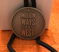 """Tie adjuster collectors item """"A million ways to die in the West"""" Frederick, 21701"""