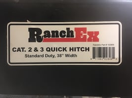 Ranch Ex quick hitch
