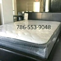 white and gray floral mattress Opa-locka, 33054