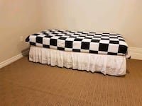 black and white bed sheet London, N6G 5R6