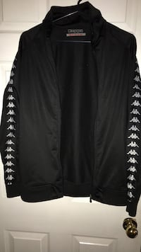 Kappa Black and White Track Jacket Size Medium never worn Ajax, L1T 2T4