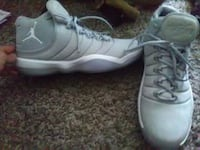 pair of gray Air Jordan basketball shoes Wichita Falls, 76302