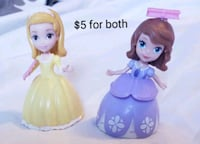 Sofia and Amber dolls - $5 Toronto, M9B 6C4