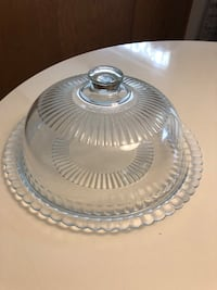 Glass Cake & Pie Server