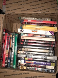 assorted DVD movie case lot Germantown, 20876