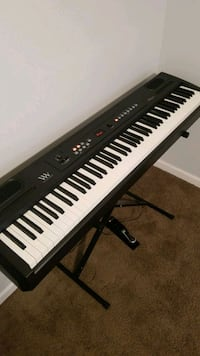 Digital Piano 88 Keys with Stand and Foot Pedal