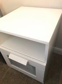 White IKEA Night stand  822 mi